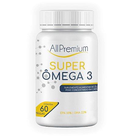 Super Omega 3 - All Premium - 60 Cápsulas