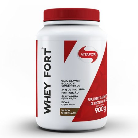Whey Protein - Whey Fort Vitafor - 900g