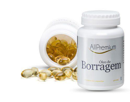 Oleo de Borragem - 60 Cápsulas - All Premium