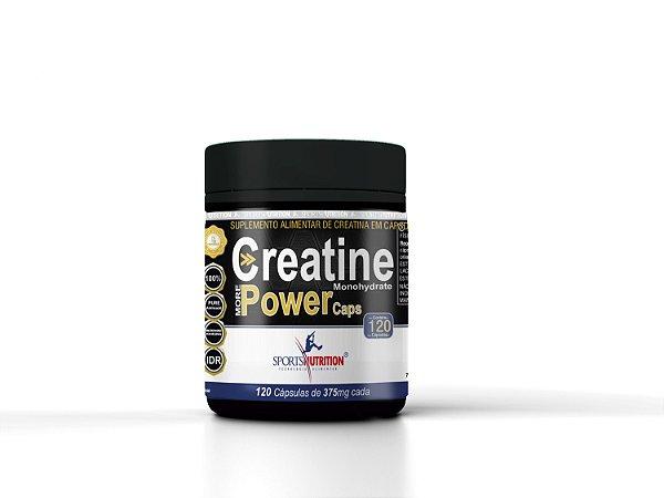 Creatina Pure Micronized Powder 120 cápsulas – Sports Nutrition