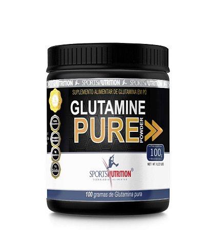 Glutamina 100g - Sports Nutrition