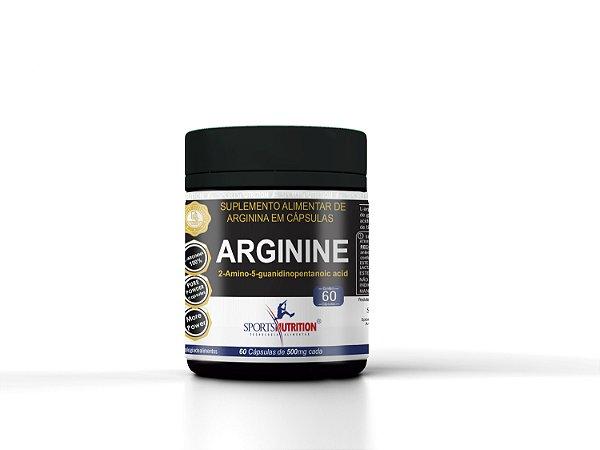 Arginina UP 60 cápsulas – Sports Nutrition