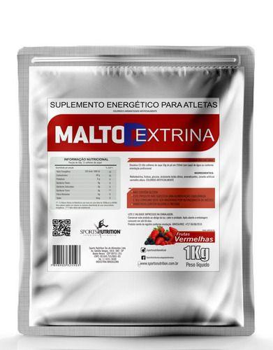Maltodextrina 1kg - Variados Sabores  Sports Nutrition