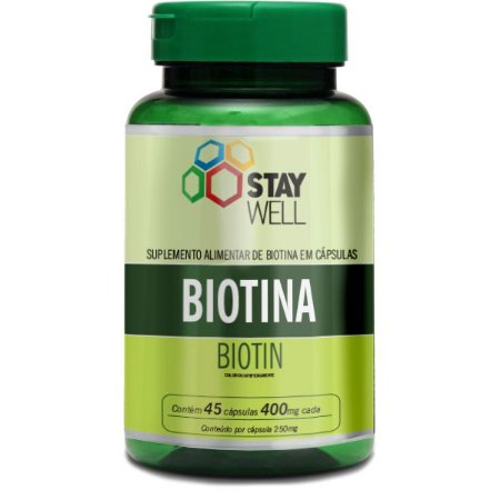 Biotina 45 Capsúlas de 400mg - Sports Nutrition