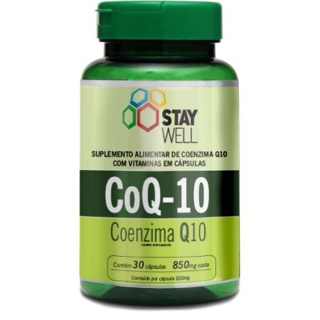 Coenzima Q10 - 30 Capsulas de 600mg - Stay Well