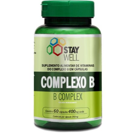 Complexo B 60 capsulas - Stay Well