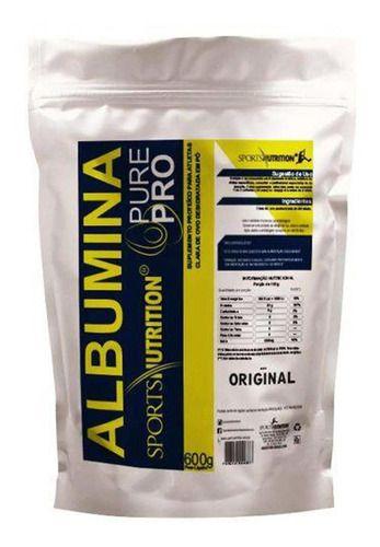 Albumina Pure Pro 600g - Sports Nutrition