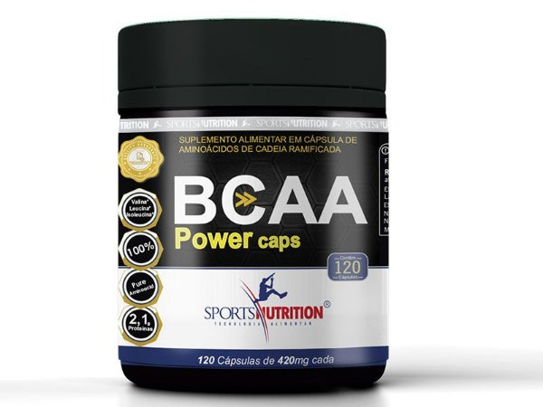 Bcaa 2500 120 Cápsulas - Sports Nutrition