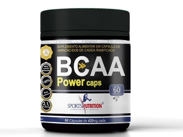 BCAA 2500 60 Cápsulas - Sports Nutrition
