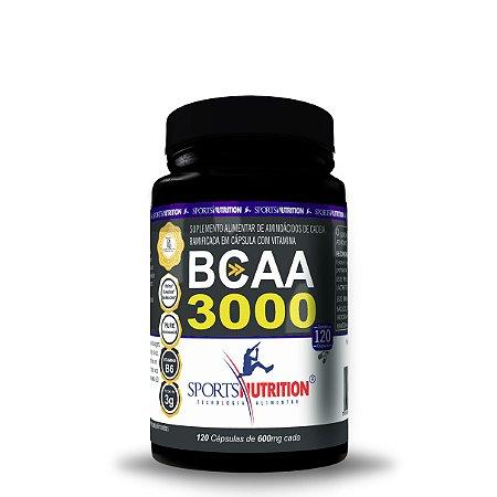 BCAA 3000 240 Cáps - Sports Nutrition