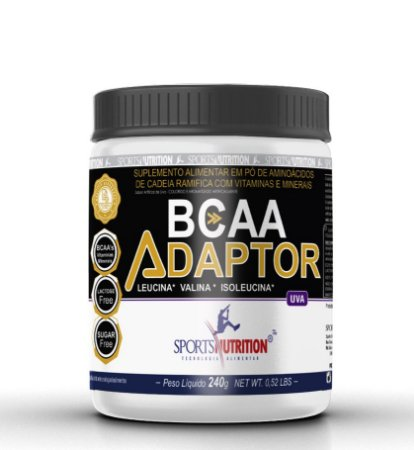 Bcaa Adaptor 240g - Sportsnutrition