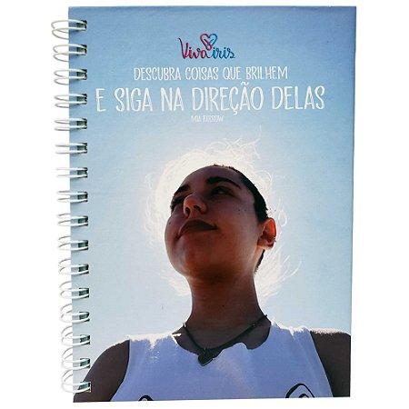 CADERNO DE ANOTAÇÃO C/ WIRE-O 15x21cm / IRIS