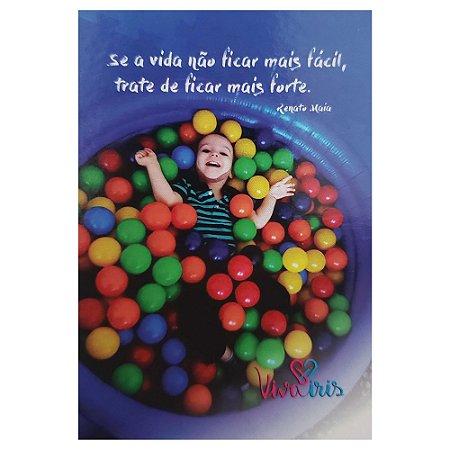 IMÃ DE GELADEIRA DO INSTITUTO VIVA IRIS / JOÃO PEDRO