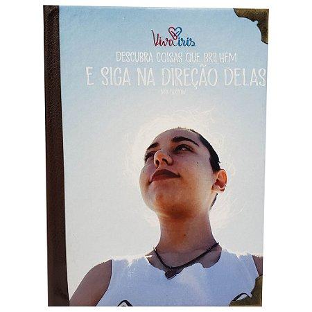 BLOCO DE ANOTAÇÃO COSTURA INTERNA 10x15cm / IRIS