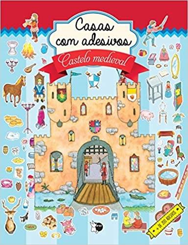 Casas com adesivos: castelo medieval