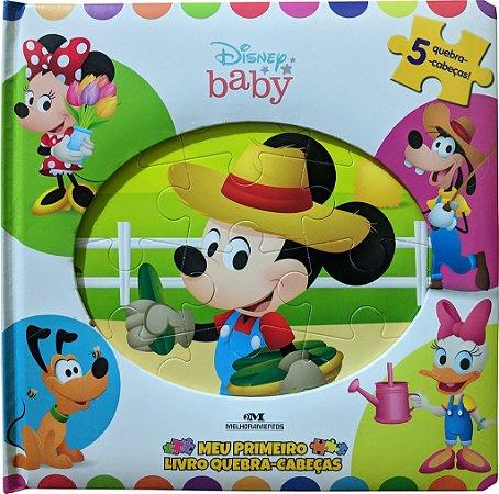 Disney baby: meu primeiro livro quebra-cabeças