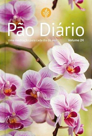 Pão Diário vol.24 - Capa flores
