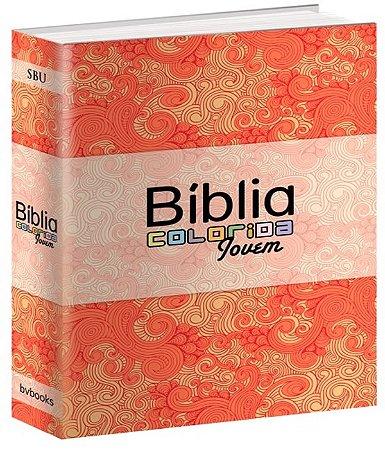 Biblia colorida jovem - capa primavera