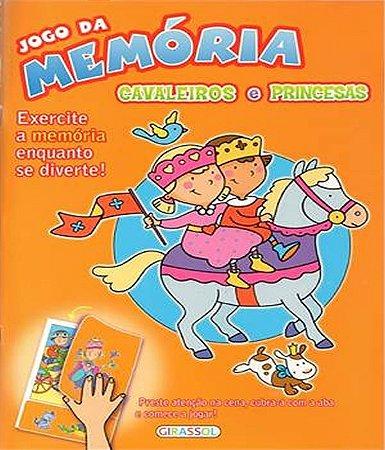 Jogo da memoria - cavaleiro e princesa