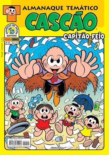 Almanaque Tematico Cascao - edição 45 - Capitao Feio