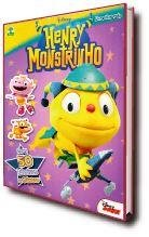 Disney Henry Monstrinho ( Grátis 50 Adesivos E Pôster )