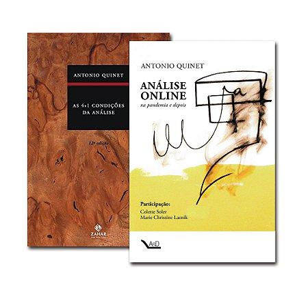 Combo Análise: As 4+1 Condições da Análise + Análise Online na pandemia e depois
