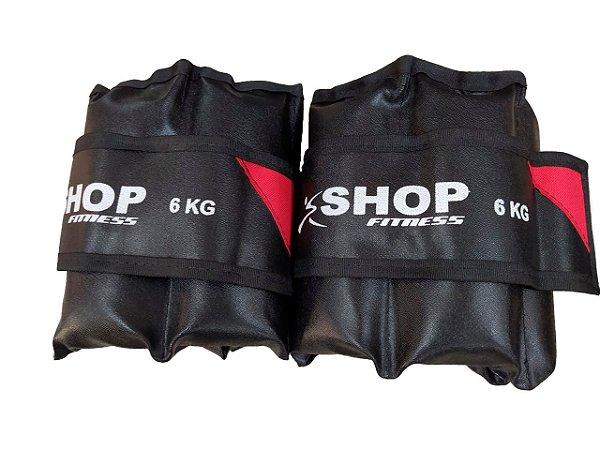 Tornozeleira 6Kg Par Shop Fitness