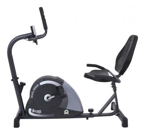 Bicicleta Horizontal Ergométrica Magnética Mag5000H Dream Fitness