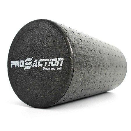 Rolo Para Yoga e Pilates em EPP 15x30cm Proaction Preto G316