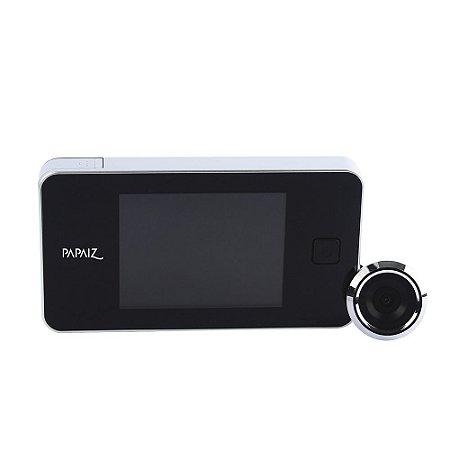 Olho Mágico Digital LCD Visão 105° Papaiz