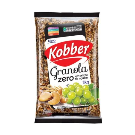 GRANOLA ZERO 1KG KOBBER