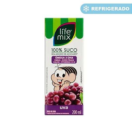 SUCO UVA 200ML LIFE MIX KIDS