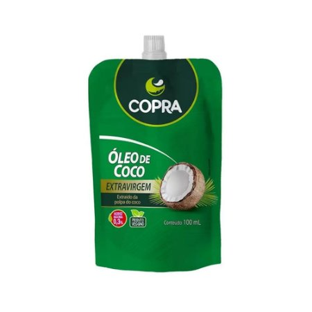 ÓLEO DE COCO EXTRA VIRGEM POUCH 100ML COPRA