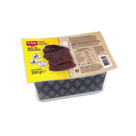 BOLO DE CHOCOLATE SEM GLÚTEN 200GR SCHAR