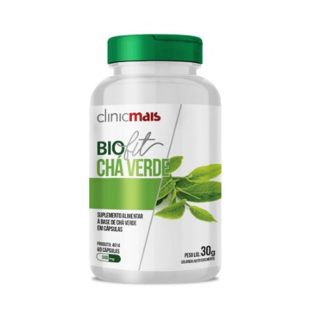 BIOFIT CHÁ VERDE 60 CÁPSULAS 500MG CLINICMAIS
