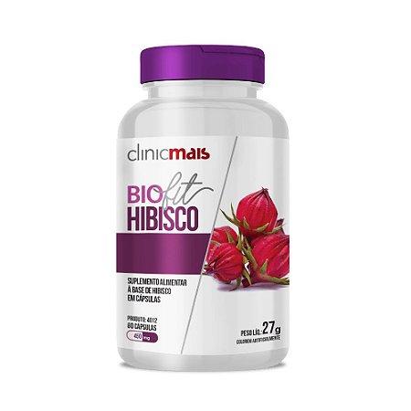 BIOFIT HIBISCO 60 CÁPSULAS 500MG CLINICMAIS
