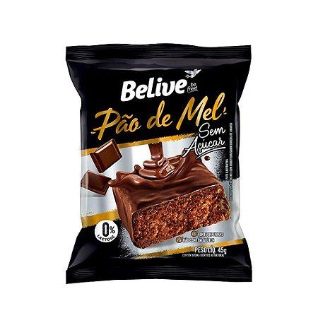 PÃO DE MEL SEM GLÚTEN SEM AÇÚCAR 40G BELIVE
