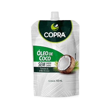 ÓLEO DE COCO SEM SABOR POUCH 100ML COPRA
