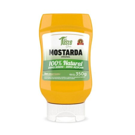 MOSTARDA GREEN VEGANA 350G MRS TASTE