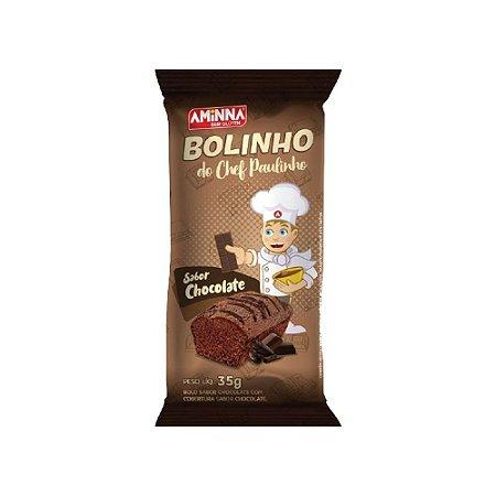 BOLINHO DE CHOCOLATE SEM GLÚTEN 35G AMINNA