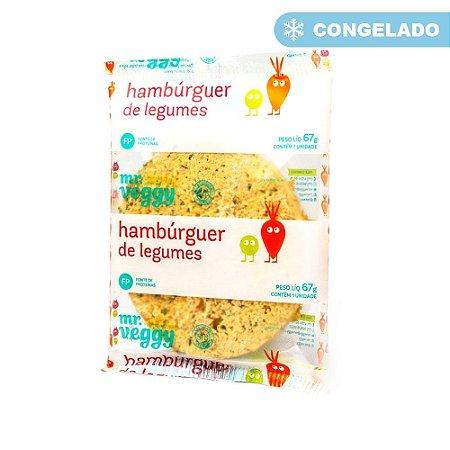HAMBURGUER DE LEGUMES 67G MR VEGGY
