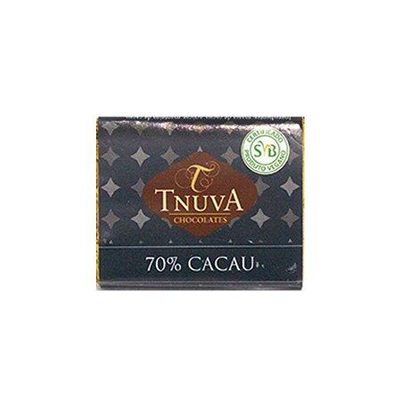 CHOCOLATE AMARGO 70% 14G TNUVA