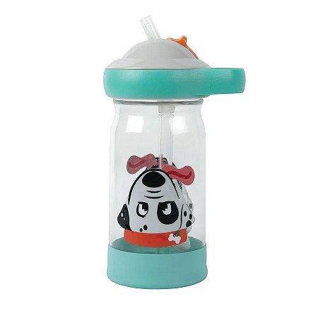 Garrafinha Infantil Osso Flutuante com Canudo e Tampa - Girotondo Baby