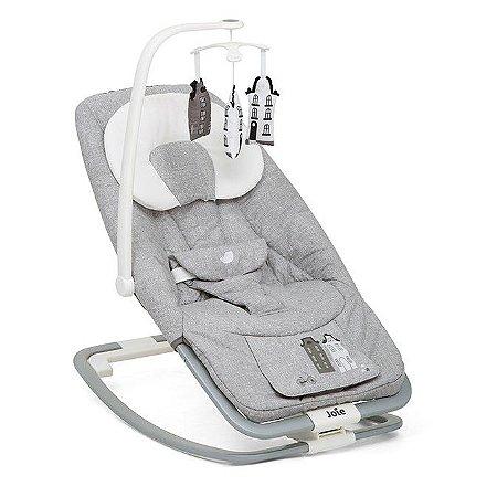 Cadeira de Descanso para Bebê Bouncer Dreamer Cinza Petite City - Joie
