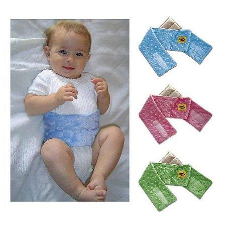 Cinta com Bolsa Térmica de Ervas Naturais para Alívio das Cólicas e Gases dos Bebês - Happi Tummi