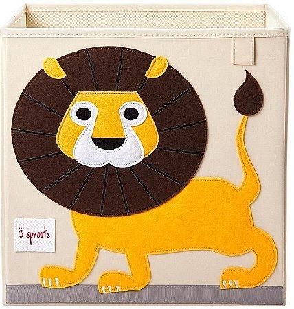 Organizador Infantil Quadrado Leão - 3 Sprouts