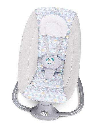 Cadeira de Balanço Automática com Bluetooth Techno Light Bege - Mastela