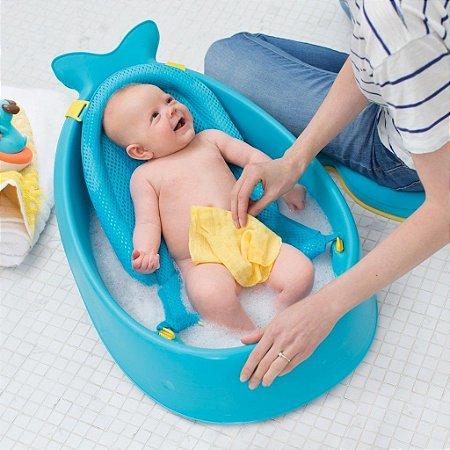 Banheira Moby Bath Tub Baleia - Cresce com o seu Bebê - Skip Hop