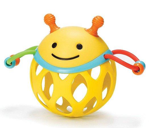 Roll Around Abelha - Chocalho Mordedor - Prêmio de Melhor Brinquedo para Bebê - Skip Hop