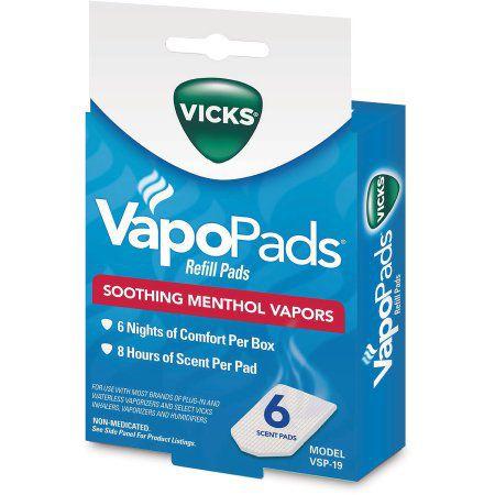 Refil Vapopads para Vaporizador - Vicks